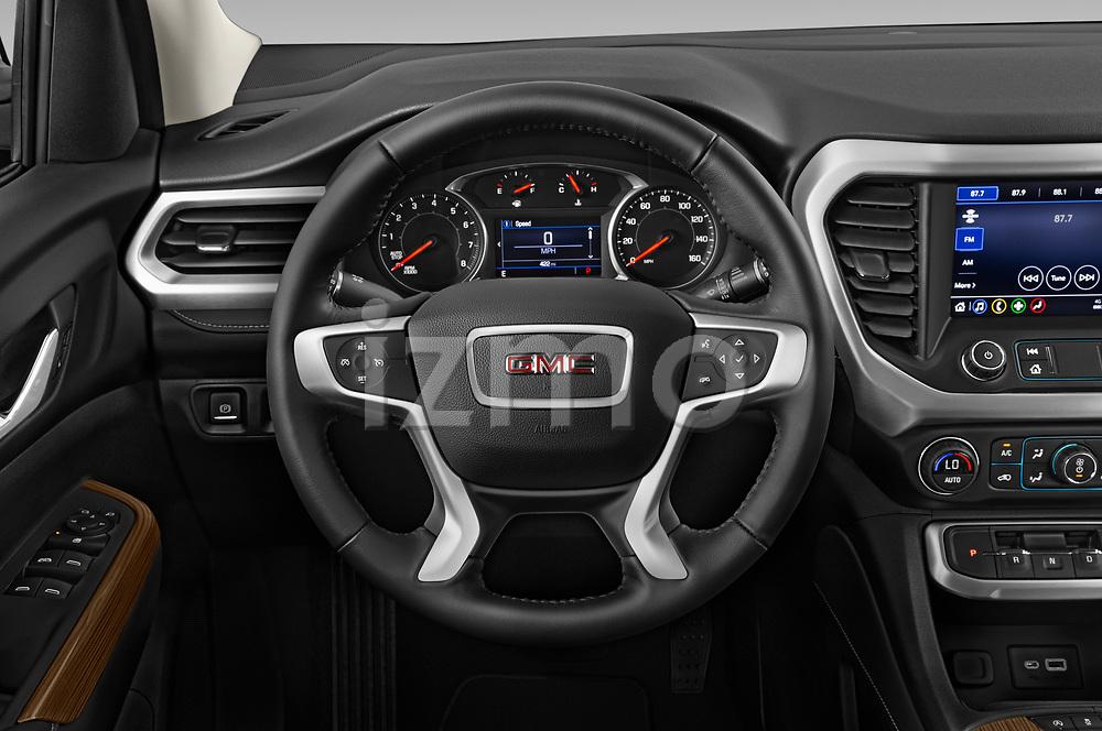 Car pictures of steering wheel view of a 2020 GMC Acadia SLE 5 Door SUV Steering Wheel