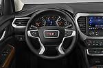 Car pictures of steering wheel view of a 2020 GMC Acadia SLE 5 Door SUV Steering Wheel