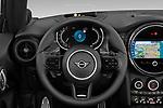 Car pictures of steering wheel view of a 2021 MINI MINI Cooper-S-JCW 2 Door Convertible Steering Wheel