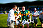 Jason Foley, Kerry, after the Munster GAA Football Senior Championship Final match between Kerry and Cork at Fitzgerald Stadium in Killarney on Sunday.