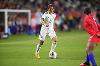 CARSON, CA - FEBRUARY 7: Kenti Robles #2 of Mexico during a game between Mexico and USWNT at Dignity Health Sports Park on February 7, 2020 in Carson, California.