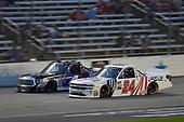 #4: Todd Gilliland, Kyle Busch Motorsports, Toyota Tundra Mobil 1, #24: Justin Haley, GMS Racing, Chevrolet Silverado Fraternal Order Of Eagles