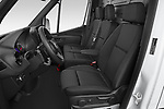 Front seat view of 2021 Mercedes Benz eSprinter - 4 Door Cargo Van Front Seat  car photos