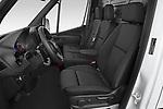 Front seat view of 2021 Mercedes Benz eSprinter - 4 Door Cargo Van Front Seat  car photos