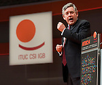 Berlin-Germany - May 21, 2014 -- International Trade Union Confederation - 3rd ITUC World Congress 'Building Workers' Power'; here, Gordon Brown, MP and United Nations Special Envoy on Global Education -- Photo: © HorstWagner.eu / ITUC