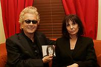 Renee Claude album launch, February 15 2006 at Lion D Or , Montreal.<br /> photo : Delphine descamps -