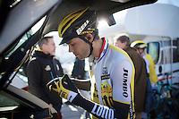 getting ready to race<br /> <br /> 3-daagse van West-Vlaanderen 2016<br /> stage1: Bruges-Harelbeke 176km