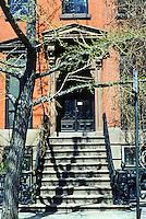 New York City: Doorway, St. Luke's Place.  Photo '78.
