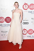 Elle Fanning<br /> arrives for the London Critic's Circle Film Awards 2020, London.<br /> <br /> ©Ash Knotek  D3552 30/01/2020
