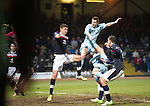 Dundee v St Johnstone.....27.02.13      SPL.Steven MacLean makes it 1-0.Picture by Graeme Hart..Copyright Perthshire Picture Agency.Tel: 01738 623350  Mobile: 07990 594431