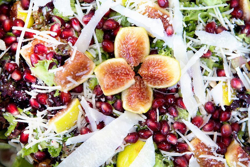 Traditional pomegranate salad