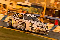 22-25 January, 2009, Daytona Beach, Florida USA.#33 Wright Motorsports Porsche GT3 of Sascha Maassen, Phillip Martien, Patrick Pilet & BJ Zacharias.©F.Peirce Williams 2009.F.Peirce Williams.photography