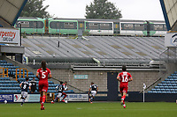 A train passes the ground during Millwall vs Middlesbrough, Sky Bet EFL Championship Football at The Den on 8th July 2020