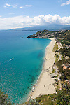 Italy, Calabria, Caminia: resort at Costa dei Saraceni and Gulf of Squillace