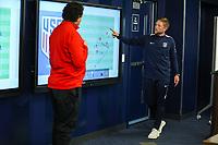 Kansas City, KS - Thursday, April 17, 2019: U.S. Soccer B coaching course at the National Development Center in Kansas City, Kansas.