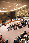 Security Council meeting Maintenance of international peace and security  Peace and security challen