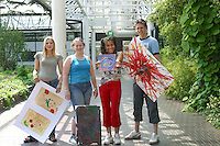 Art & Design students, Further Education College.