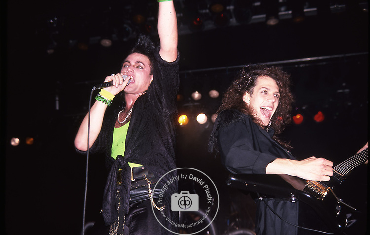 Geoff Tate & Chris DeGarmo of Queensryche 1986
