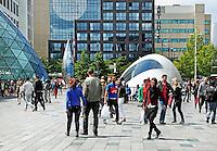 Straatbeeld Eindhoven Centrum