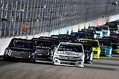 #45: Ross Chastain, Niece Motorsports, Chevrolet Silverado TruNorth/Paul Jr. Designs and #51: Christian Eckes, Kyle Busch Motorsports, Toyota Tundra SiriusXM