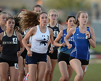 competes Friday, April 30, 2021, in the during the 6A-West Conference Track and Field Meet at the Tiger Athletic Complex in Bentonville. Visit nwaonline.com/210501Daily/ for today's photo gallery. <br /> (NWA Democrat-Gazette/Andy Shupe)