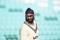 Amar Virdi, Surrey CCC during Surrey CCC vs Hampshire CCC, LV Insurance County Championship Group 2 Cricket at the Kia Oval on 1st May 2021