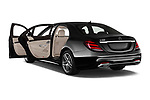 Car images of 2018 Mercedes Benz S-Class 450 4 Door Sedan Doors