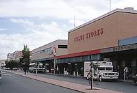 Fremantle: New shop facades along Adalaide St. (originally 1900's). Photo '82.
