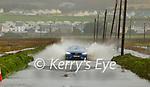 The Ardfert to Ballyheigue road flooded on Monday morning