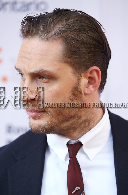 Tom Hardy attends the 'The Drop' premiere during the 2014 Toronto International Film Festival at Princess of Wales Theatre on September 5, 2014 in Toronto, Canada.