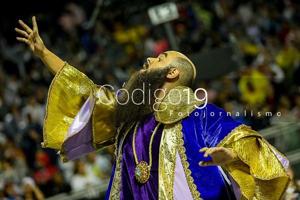 SAO PAULO, SP, 23/02/2020 - Carnaval 2020 -SP- Carnaval 2020, Desfile da Escola de Samba Aguia de Ouro pelo segundo dia de Carnaval do grupo especial, no Sambodromo do Anhembi em Sao Paulo, SP, nesta domingo (23). (Foto: Marivaldo Oliveira/Codigo 19/Codigo 19)
