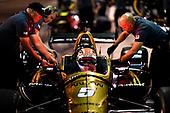 2018 Verizon IndyCar Series Phoenix testing<br /> Phoenix Raceway, Avondale, Arizona, USA<br /> Saturday 10 February 2018<br /> James Hinchcliffe, Schmidt Peterson Motorsports Honda<br /> World Copyright: Scott R LePage/LAT Images<br /> ref: Digital Image _SRL4641