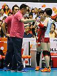 (L-R) Masayoshi Manabe, Chizuru Koto, Haruka Miyashita (JPN),  AUGUST 26, 2015 - Volleyball : FIVB Women's World Cup 2015 1st Round between Japan 3-0 Kenya  in Tokyo, Japan. (Photo by Sho Tamura/AFLO SPORT)
