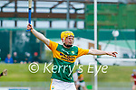 Daniel  Collins, Kerry during the National hurling league between Kerry v Down at Austin Stack Park, Tralee on Sunday.