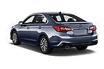 Car pictures of rear three quarter view of a 2018 Subaru Legacy Premium 4 Door Sedan angular rear