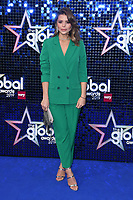 Chloe Lewis<br /> arriving for the Global Awards 2019 at the Hammersmith Apollo, London<br /> <br /> ©Ash Knotek  D3486  07/03/2019