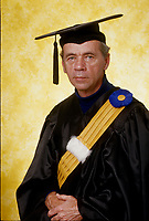 1997  File Photo - Montreal (qc) CANADA - Senior graduate