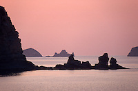 Spanien, Balearen, Ibiza, Inseln beim Torre d'en Rovira