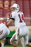 12 April 2007: Tavitha Pritchard during the annual Spring Game at Stanford Stadium in Stanford, CA.