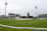 General view of the ground after heavy overnight rain ahead of Somerset CCC vs Essex CCC, Specsavers County Championship Division 1 Cricket at The Cooper Associates County Ground on 25th September 2019