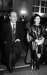 DADO  RUSPOLI CON BELLA FREUD<br /> SFILATA ROCCO BAROCCO GRAND HOTEL ROMA 1993