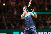 Rotterdam, The Netherlands, 13 Februari 2019, ABNAMRO World Tennis Tournament, Ahoy,  Milos Raonic (CAN) - Stan Wawrinka (SUI)<br /> Photo: www.tennisimages.com/Henk Koster