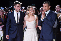 """Robert Pattinson, Sienna Miller and Charlie Hunnam<br /> at the """"Lost City of Z"""" premiere held at the British Museum, London.<br /> <br /> <br /> ©Ash Knotek  D3229  16/02/2017"""