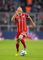 27.01.2018,  Football 1.Liga 2017/2018, 20. match day, FC Bayern Muenchen - TSG 1899 Hoffenheim, in Allianz-Arena Muenchen. Arjen Robben (FC Bayern Muenchen) . *** Local Caption *** © pixathlon<br /> <br /> +++ NED + SUI out !!! +++<br /> Contact: +49-40-22 63 02 60 , info@pixathlon.de