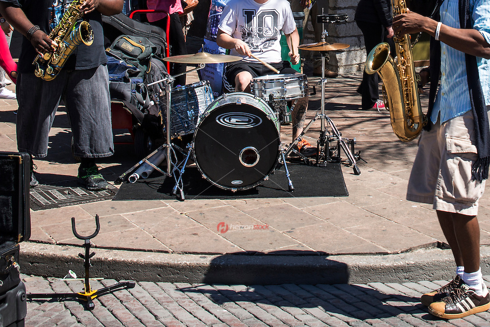 6th Street is the heart of Austin's live entertainment scene and during SXSW street musicians abound on every corner.