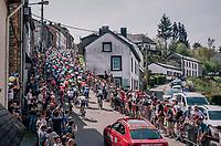 up the Côte de Saint-Roche<br /> <br /> 104th Liège - Bastogne - Liège 2018 (1.UWT)<br /> 1 Day Race: Liège - Ans (258km)