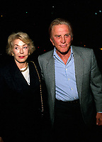 **FILE PHOTO** Anne Douglas Has Passed Away.<br /> <br /> Anne Douglas And Kirk Douglas 1989       <br /> CAP/MPI/RAP<br /> ©RAP/MPI/Capital Pictures