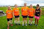 Taking part in the Tralee Born to Run clubs fundraising run in aid of Help Rose Bloom on Saturday morning, l to r: Norma Foran, Kathleen Curtin, Helen Twomey, Aine Brosnan and Claire Cassidy.