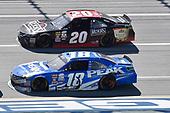 NASCAR Xfinity Series<br /> Sparks Energy 300<br /> Talladega Superspeedway, Talladega, AL USA<br /> Saturday 6 May 2017<br /> Daniel Suarez, Peak Antifreeze & Coolant Toyota Camry, Erik Jones, Reser's American Classic Toyota Camry<br /> World Copyright: John K Harrelson<br /> LAT Images<br /> ref: Digital Image 17TAL1jh_01572
