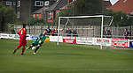 A missed chance for Shildon Whitby Town 3 Shildon 2, FA CUP 1st Round Qualifying, 15th September 2007.